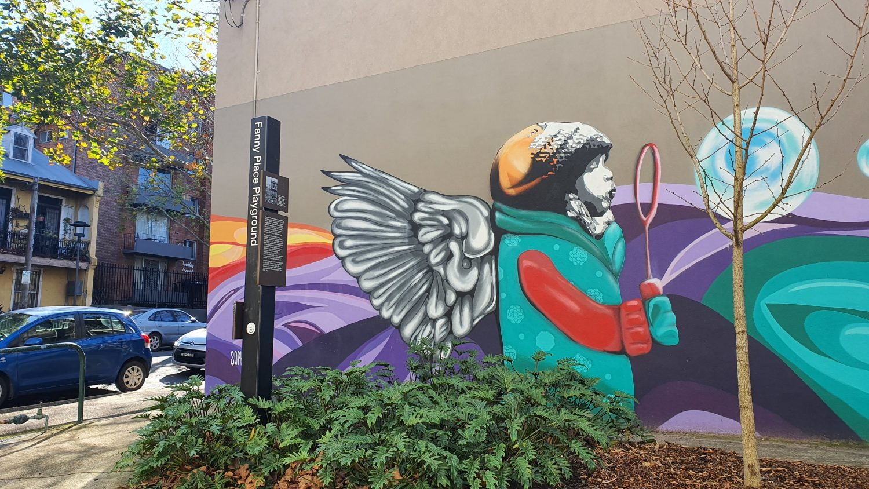 Fanny Place Surry Hills Street Art Sydney Art Out Live