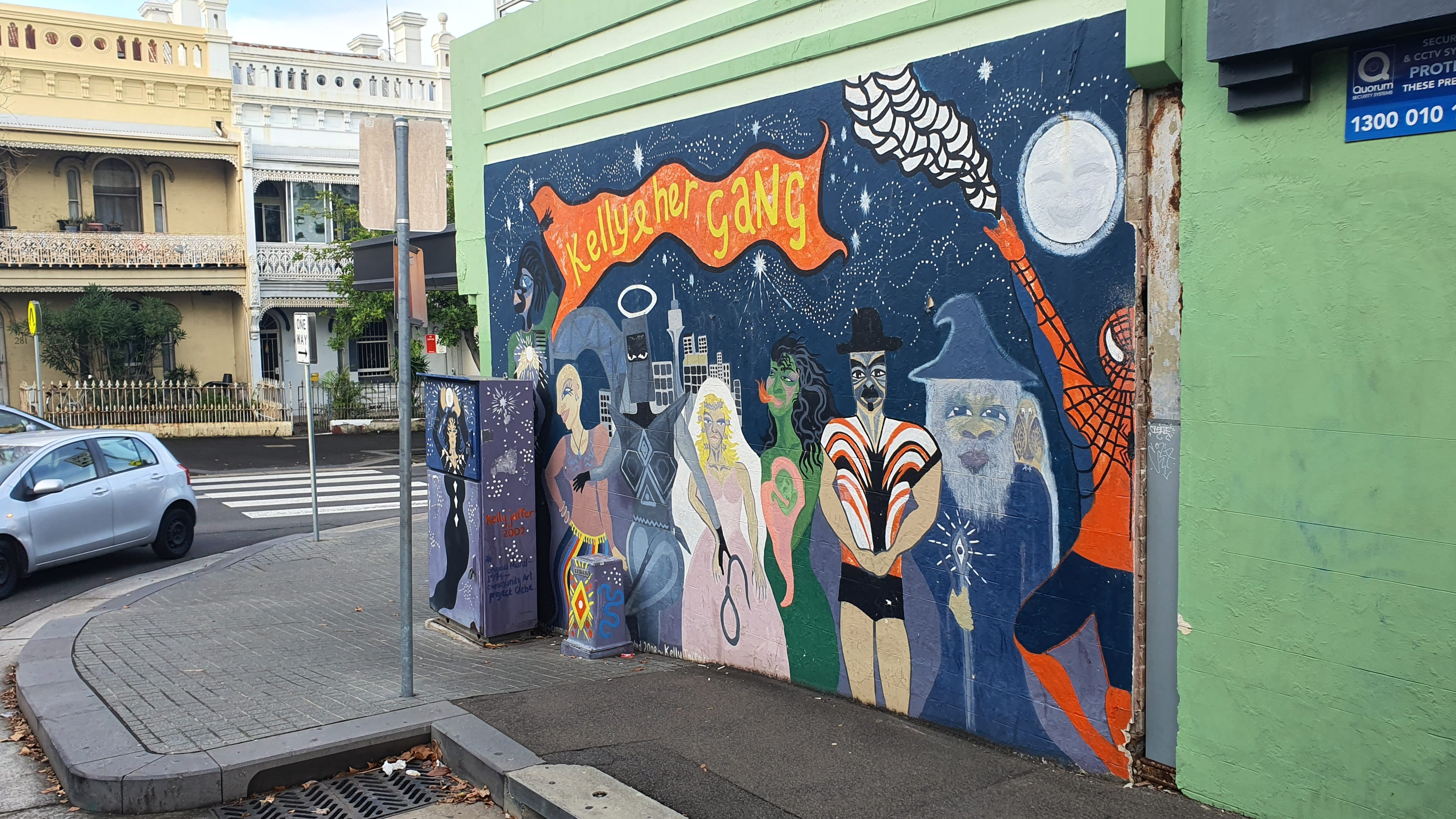 Hereford Street Glebe Street Art Sydney (1) Art Out Live