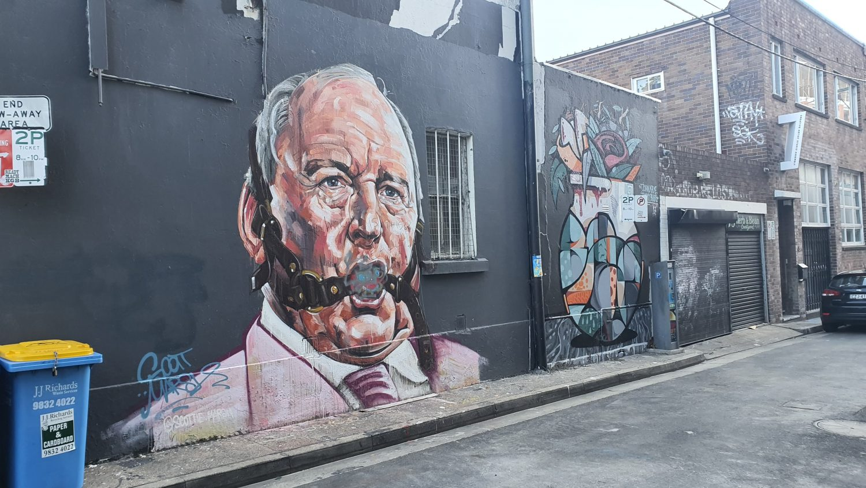 Wellington Street Chippendale Street Art Sydney Art Out Live