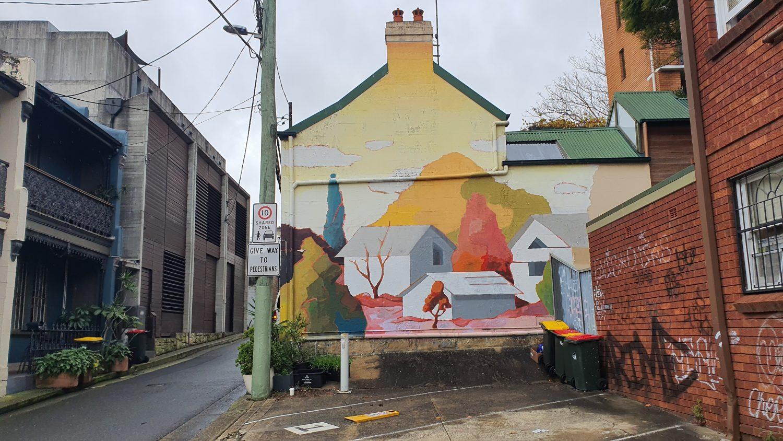 Wells Street Redfern Street Art Sydney Art Out Live