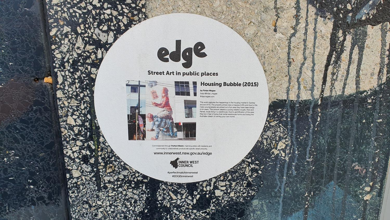 Enmore Road (West) Newtown Street Art Sydney (1) Art Out Live