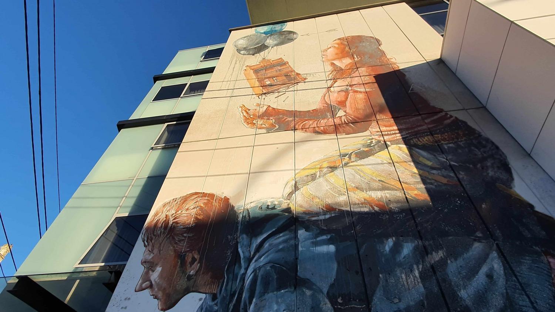 Enmore Road (West) Newtown Street Art Sydney Art Out Live