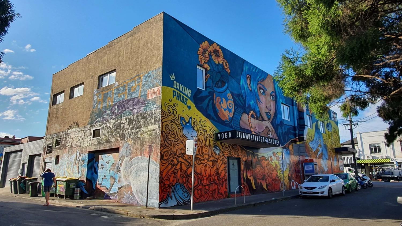 Holt Street (East) Newtown Street Art Sydney Art Out Live