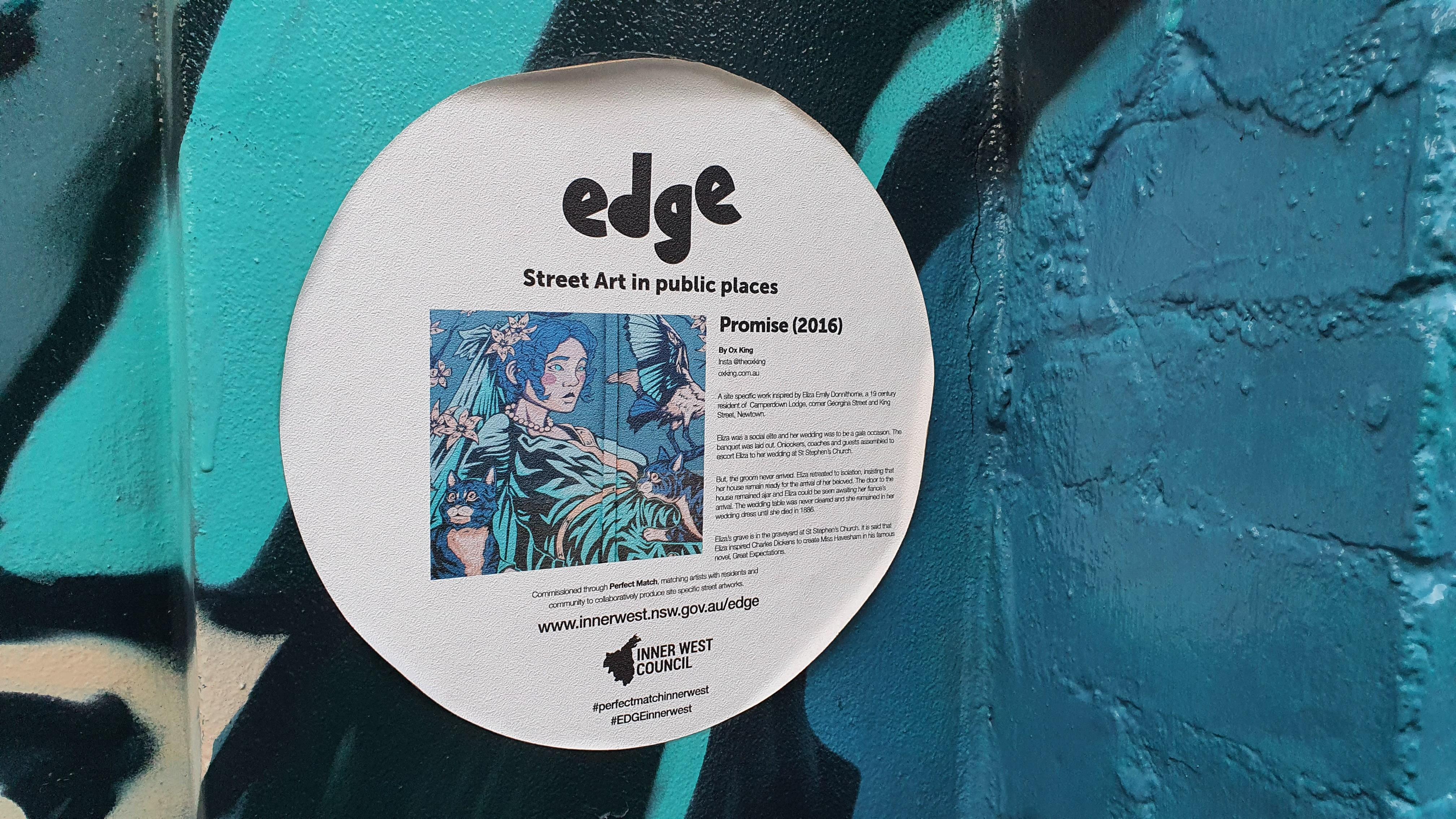 Lennox Street (West) Newtown Street Art Sydney (2) Art Out Live
