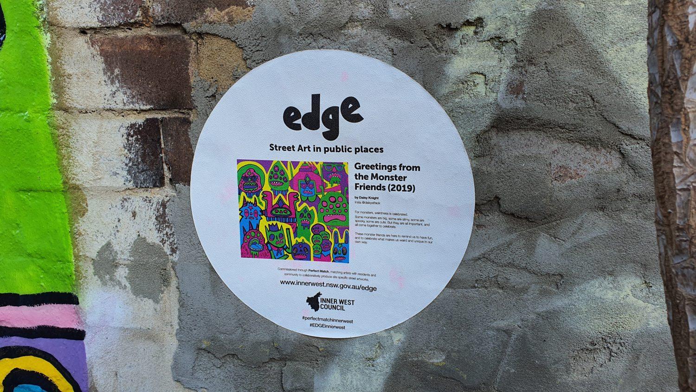 Melville Lane (East) Newtown Street Art Sydney (1) Art Out Live Daisy Knight