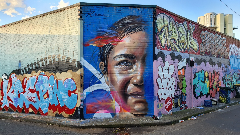 Phillip Phillip Lane (South) Newtown Street Art Sydney Art Out Live(South) Newtown Street Art Sydney Chippendale Live