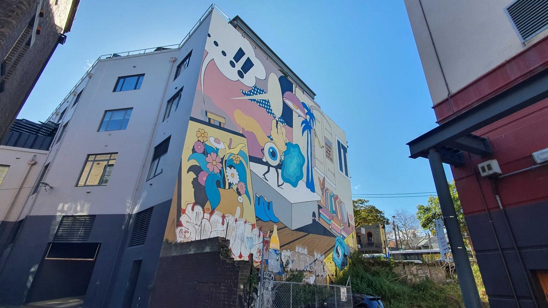 Hutchinson Place Surry Hills Street Art Sydney Art Out Live