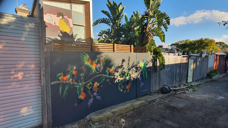 Rawson Lane (East) Newtown Street Art Sydney Art Out Live