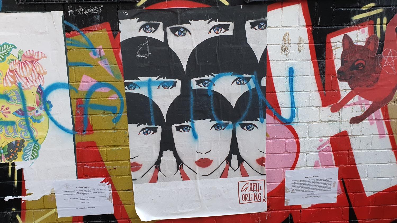 Cope Street (West) Newtown Street Art Sydney Art Out Live (12)