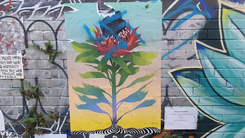 Cope Street (West) Newtown Street Art Sydney Art Out Live (2)