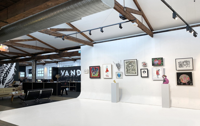 Vandal Redfern Gallery Sydney Art Out Live (7) Wild Hearts Courtesy of Vandal