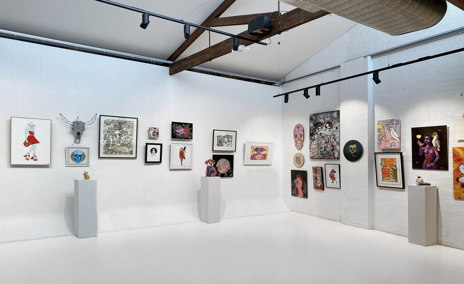 Vandal Redfern Gallery Sydney Art Out Live (8) Wild Hearts Courtesy of Vandal