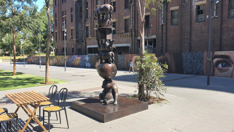 Central Park Chippendale Landmarks Sydney Art Out Live Gillie and Marc 13 October 2020 (1)