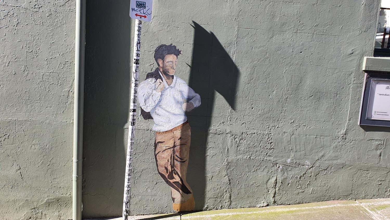 Intersection Wall Paddington Street Art Sydney Art Out Live (2)