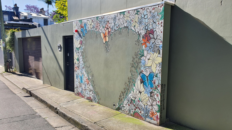 Intersection Wall Paddington Street Art Sydney Art Out Live (3)