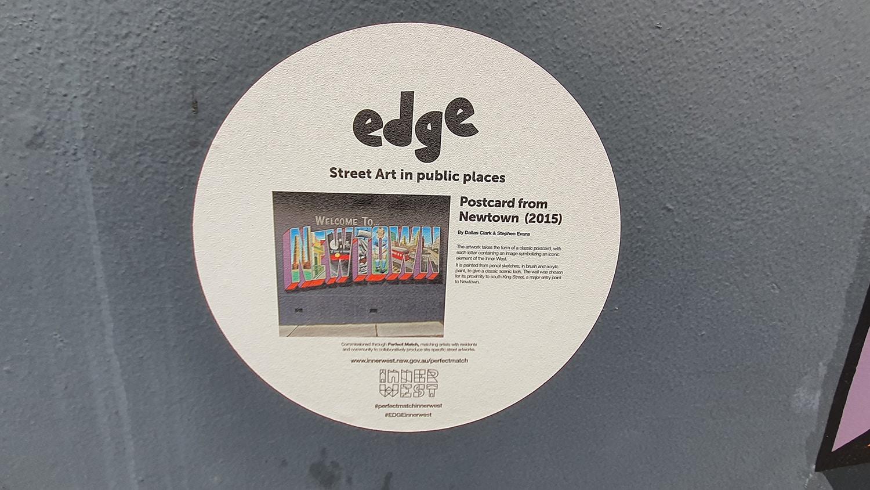 Darley Street Newtown Street Art Sydney Art Out Live (1)