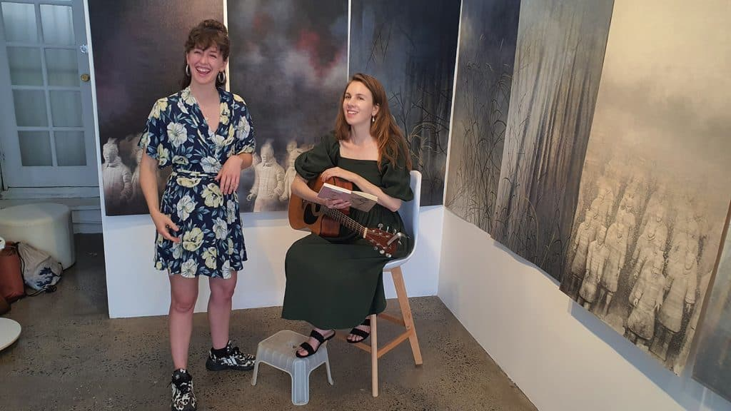 Eden and the Willow Newtown Galleries Lindsay Roser Charmian Kingtston Performance (10) Sydney Art Out Live