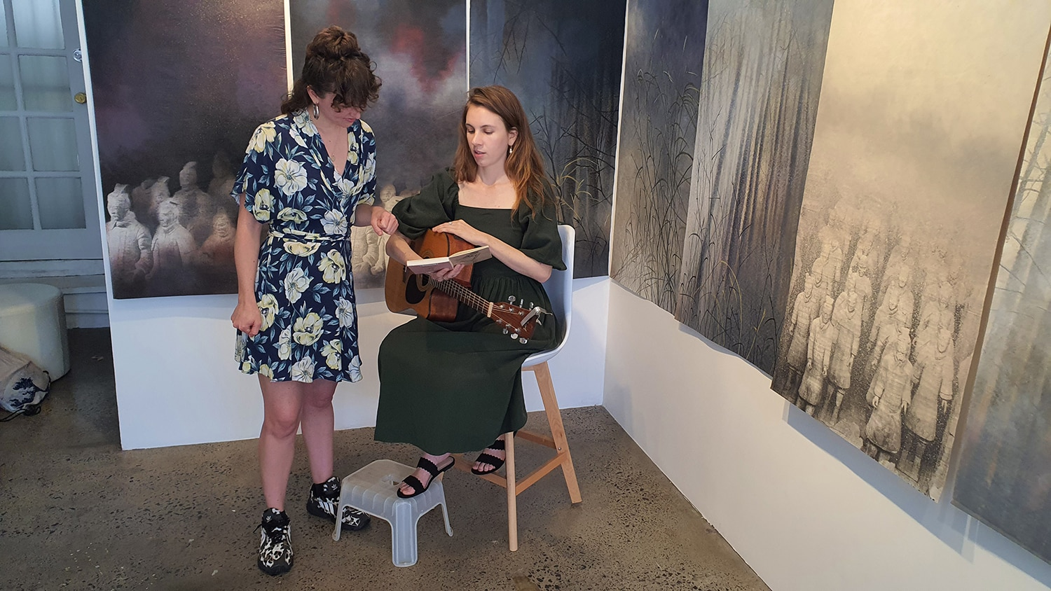 Eden and the Willow Newtown Galleries Lindsay Roser Charmian Kingtston Performance (11) Sydney Art Out Live