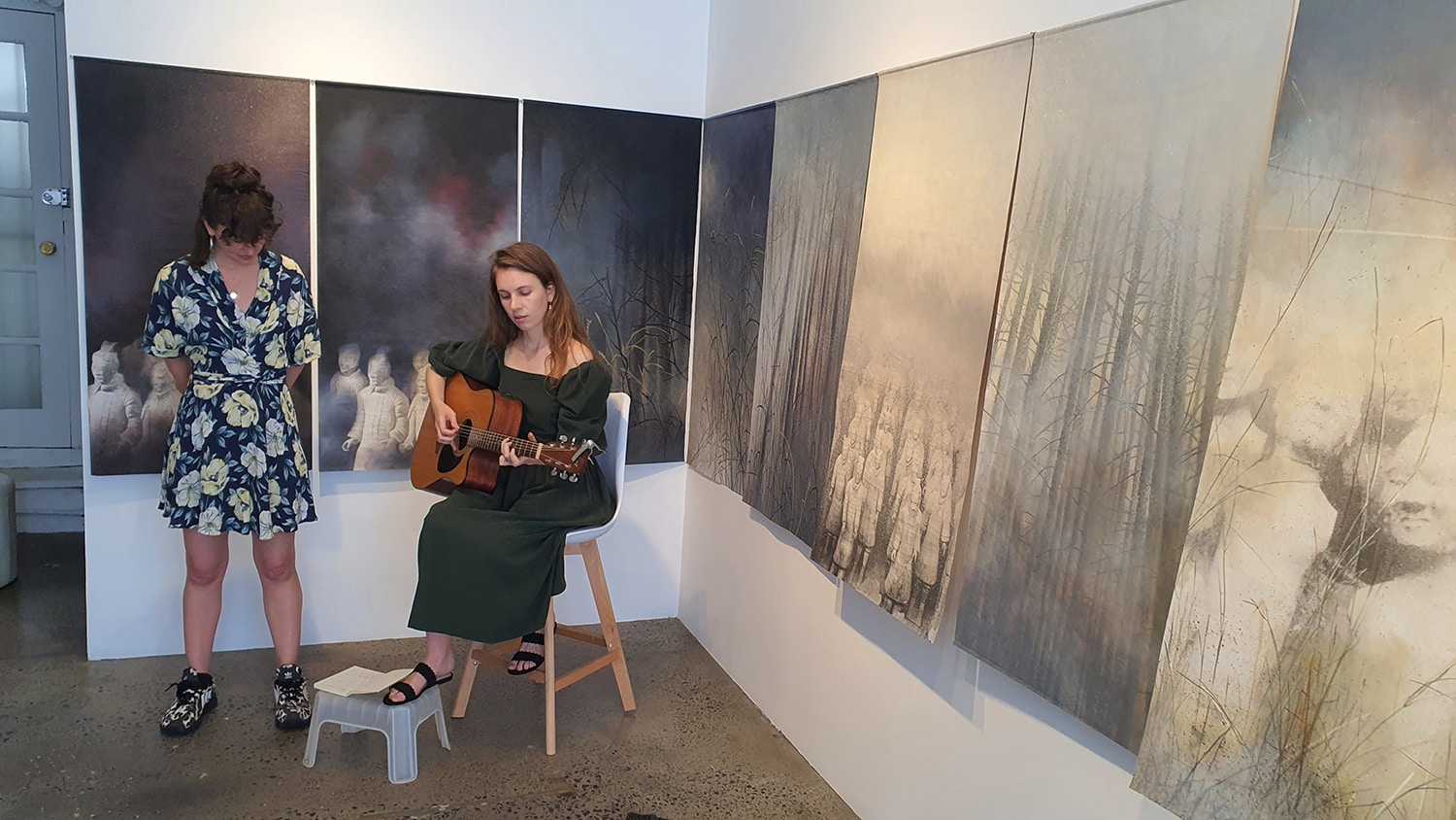 Eden and the Willow Newtown Galleries Lindsay Roser Charmian Kingtston Performance (12) Sydney Art Out Live