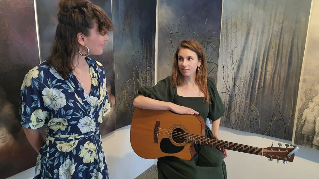 Eden and the Willow Newtown Galleries Lindsay Roser Charmian Kingtston Performance (13) Sydney Art Out Live