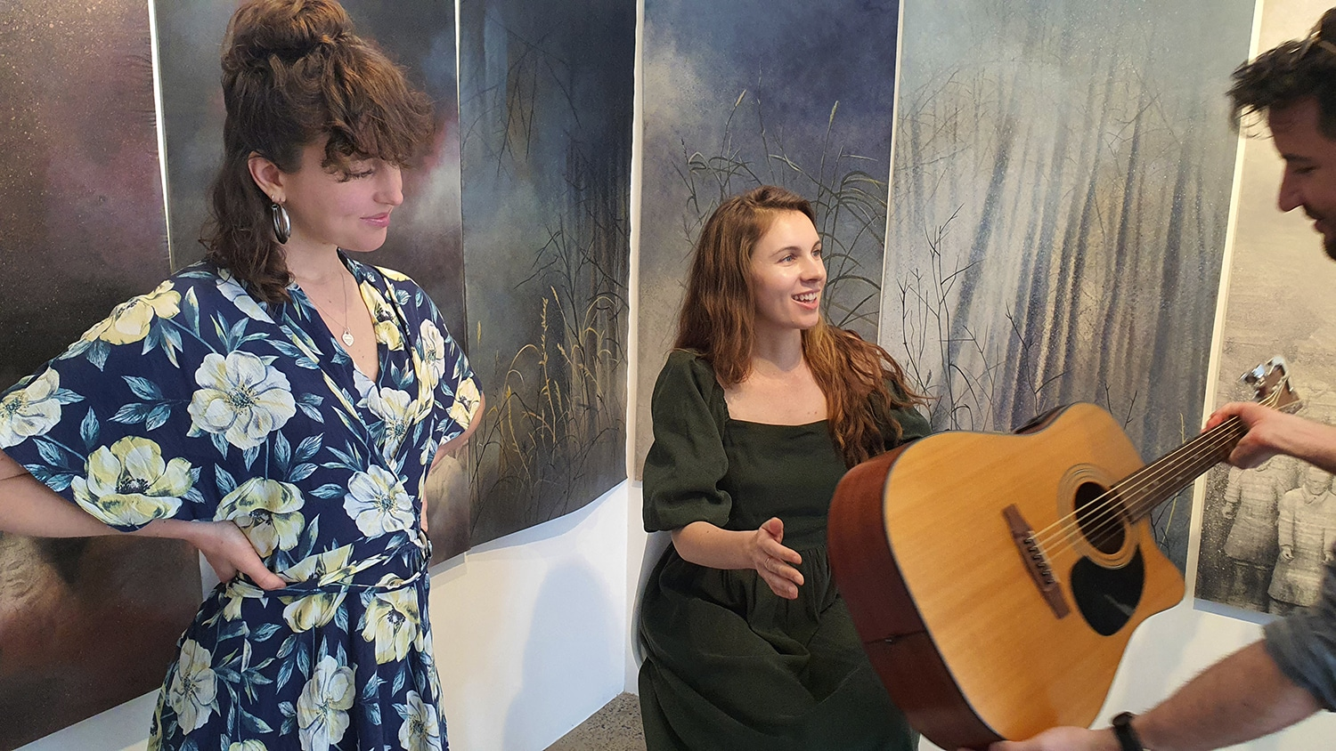 Eden and the Willow Newtown Galleries Lindsay Roser Charmian Kingtston Performance (14) Sydney Art Out Live