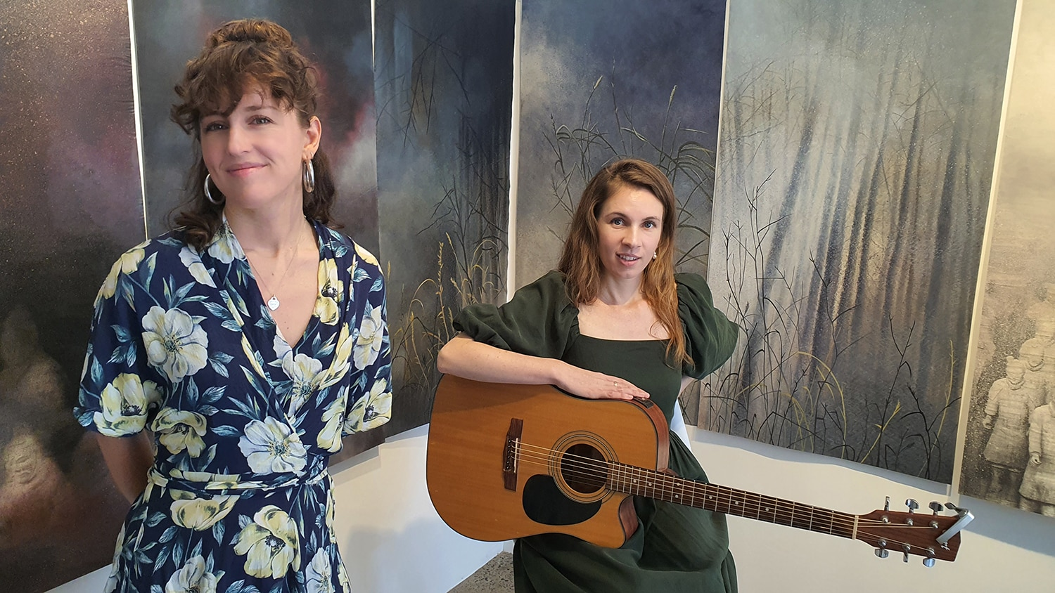Eden and the Willow Newtown Galleries Lindsay Roser Charmian Kingtston Performance (15) Sydney Art Out Live
