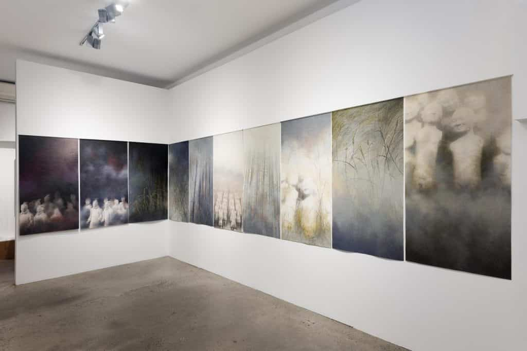 Eden and the Willow Newtown Galleries November 2020 Hanna Kay Shifting Horizons (16) Sydney Art Out Live
