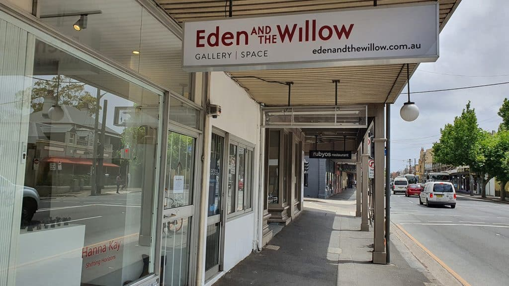 Eden and the Willow Newtown Galleries November 2020 Hanna Kay Shifting Horizons (8) Sydney Art Out Live