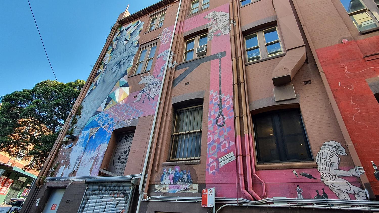 Foley Street Darlinghurst Street Art Sydney Art Out Live (1)
