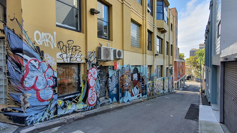 Foley Street Darlinghurst Street Art Sydney Art Out Live (2)