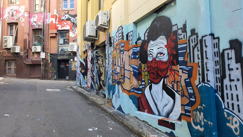 Foley Street Darlinghurst Street Art Sydney Art Out Live (3)