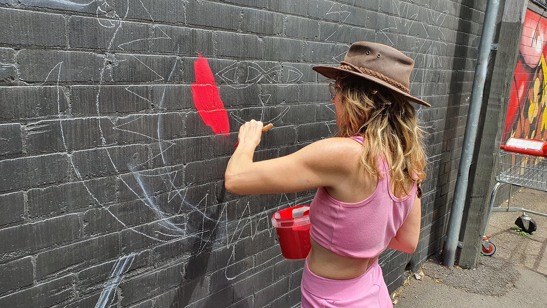 Hudson Street Redfern Street Art Sydney Art Out Live Aley Wild Mural 2