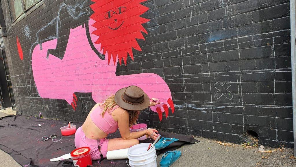Hudson Street Redfern Street Art Sydney Art Out Live Aley Wild Mural 5