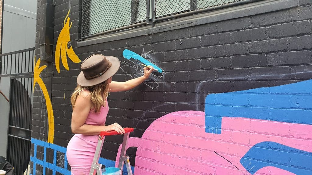 Hudson Street Redfern Street Art Sydney Art Out Live Aley Wild Mural 8