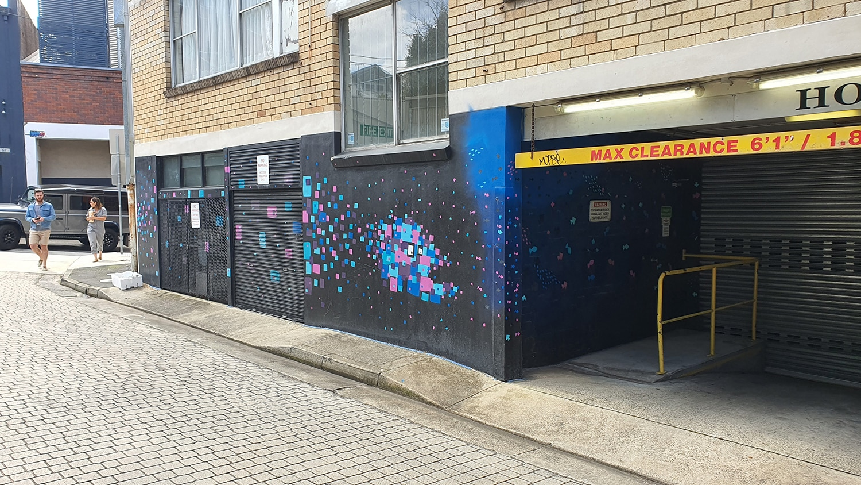 Iona Lane Paddington Street Art Sydney Art Out Live (1)