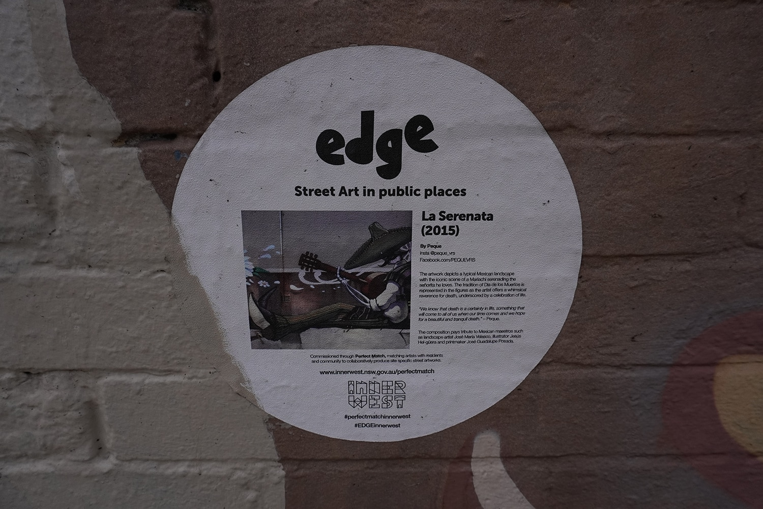 Edgeware Road Enmore Street Art Sydney Art Out Live Peque (2)