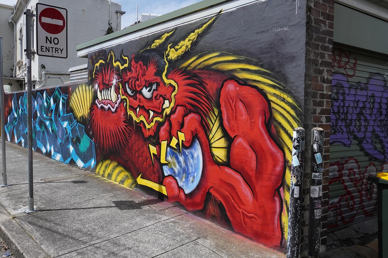 Enmore Lane Enmore Street Art Sydney Art Out Live (1)