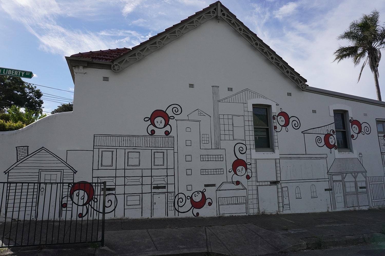 Liberty Street Enmore Street Art Sydney Art Out Live (1)
