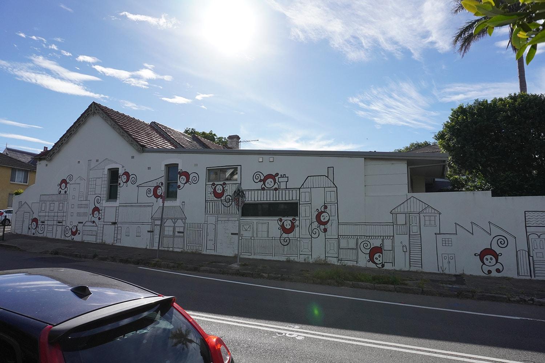 Liberty Street Enmore Street Art Sydney Art Out Live