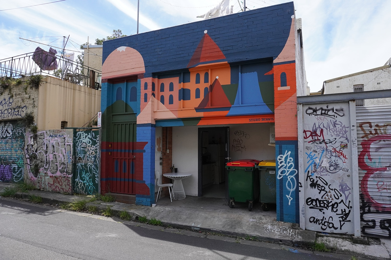 Metropolitan Road Enmore Street Art Sydney Art Out Live Andrew Dennis