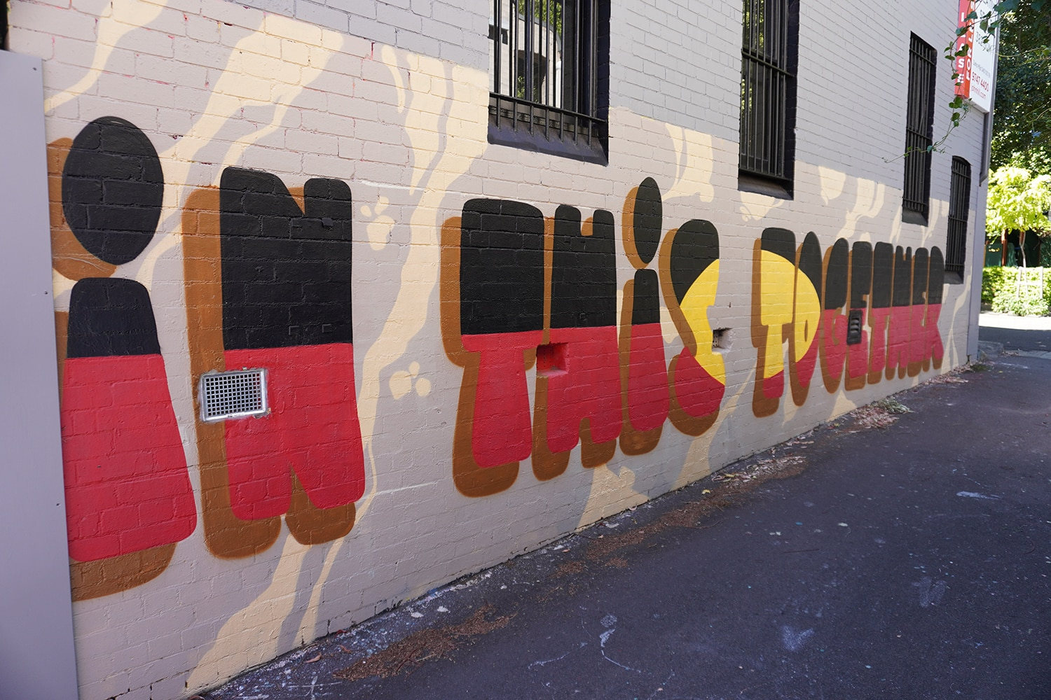Vine Lane (West) Darlington Street Art Sydney Art Out Live January 2021 (1)