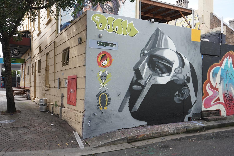Chippen Lane Chippendale Street Art Sydney Art Out Live February 2021 Moussa