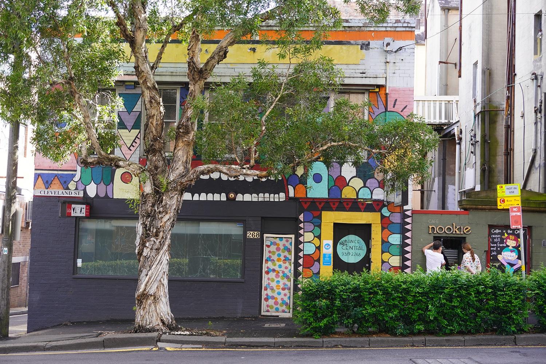 Cleveland Street Surry Hills Street Art Sydney Art Out Live Nick Hernandez (2)