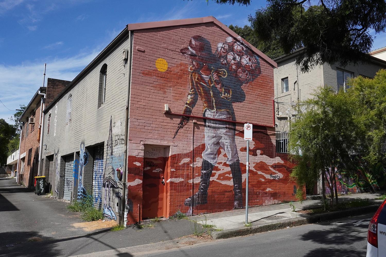 Newington Road Enmore Street Art Sydney Art Out Live Fintan Magee