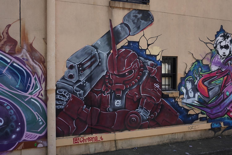 Newington Road (South) Enmore Street Art Sydney Art Out Live Chrisna T